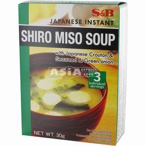 3 x soupes miso shiro 30g