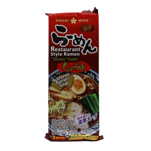 soupe nouilles ramen hikari miso au shoyu 188g