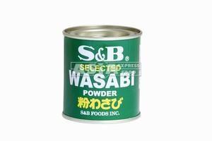 wasabi en poudre 30gr s&b