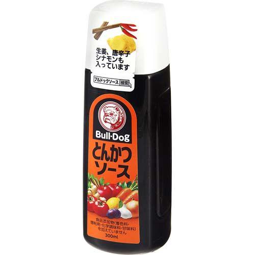 sauce japonaise bull-dog tonkatsu 300 ml