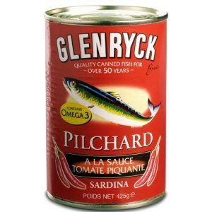 pilchard tomate piment 425gr