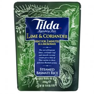 riz basmati citron vert et coriandre tilda pret en 2 minutes