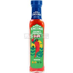 sauce chunky sriracha moyenne encona 142ml