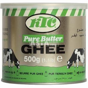beurre clarifié pur ghee ktc 500gr