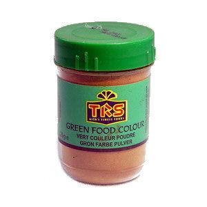 poudre colorant alimentaire verte 25gr trs