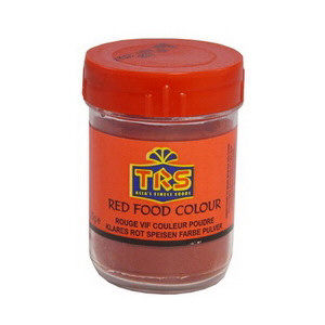 poudre colorant alimentaire rouge 25gr trs