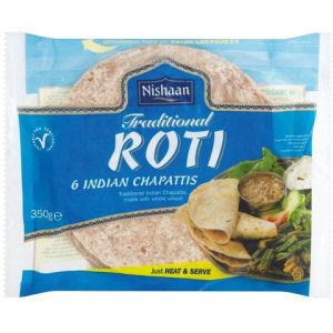 roti chapatti traditionnel nishaan 350g