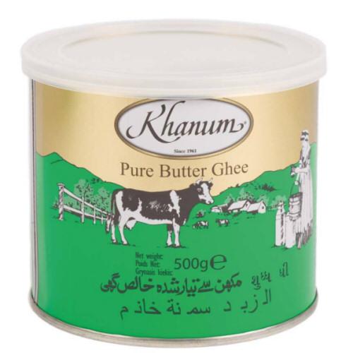 butter ghee khanum 500g
