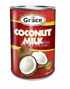 lait de coco 13.6% 400ml grace rouge