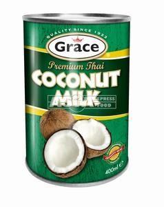 lait de coco 16.6% 400ml grace vert