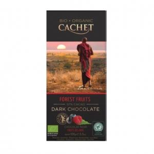 chocolat noir bio 57% fruits des bois 100g