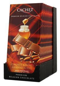 chocolat au lait amande miel 100g