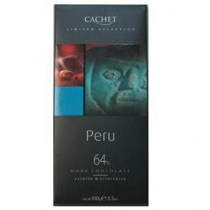 chocolat peru 64% cacao 100g