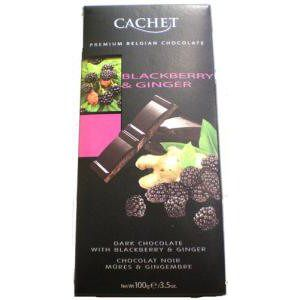 chocolat noir mure gingembre 100g