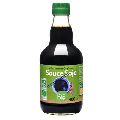 sauce soja racines bio 400ml