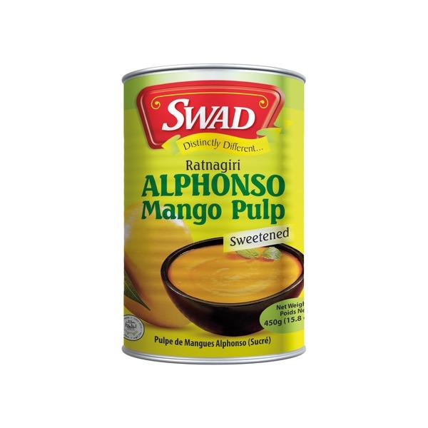 pulpe de mangue alphonso  450gr sucrée