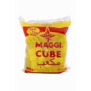 100 bouillon cubes maggi 400gr halal