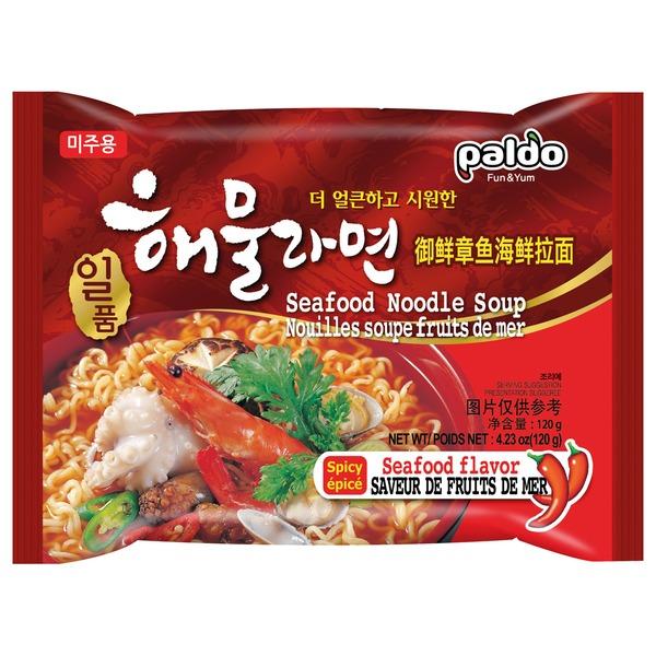nouilles ramen coreene fruits de mer 120gr paldo