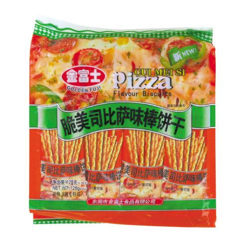 sticks apéritifs saveur pizza 128gr