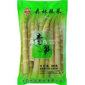 pousse de bambou vert entier zhu xin 500g
