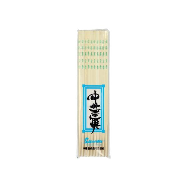 baguettes en bambou 26,5 cm x 10 pieces vert