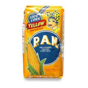 farine du mais jaune pan 1kg