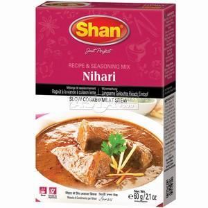 melange nihari pour ragout à la viande cuisson lente 60gr shan