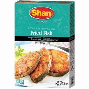 assaisonnement poisson frit epicés 50gr shan