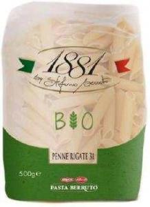 pâtes italiennes penne rigate bio pqt 500g