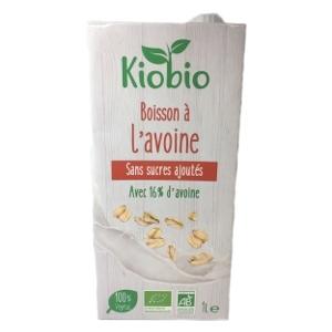 boisson végétale bio lait avoine ss sucres ajoutés 1l