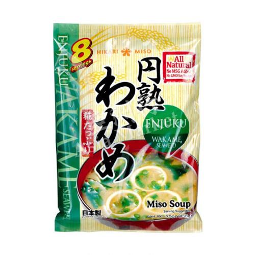 preparation pour soupe miso enjuku wakame miso156g