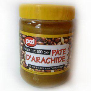 pate d'arachide sans sucre pcd 500gr