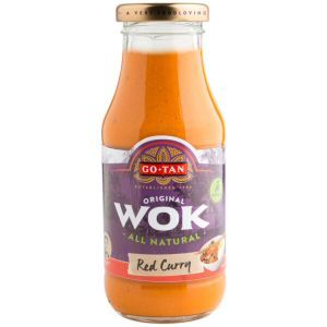 sauce wok au curry rouge gotan 240 ml