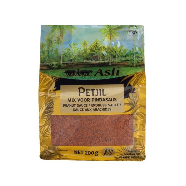 préparation de sauce aux cacahouètes petjel indonesien asli 200gr