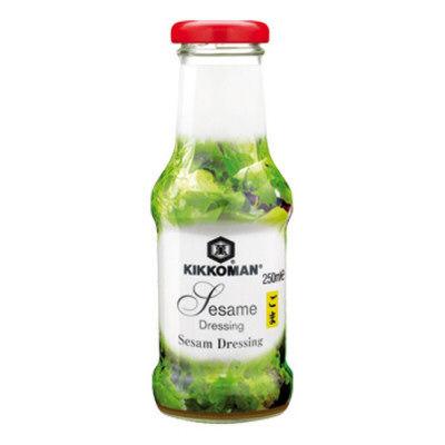 sauce salade sesame kikkoman 250ml