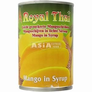 mangues au sirop 425g royal thai