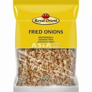 oignons frits 400gr royal thai