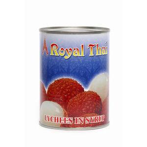 lychee au syrop royal thai 565g
