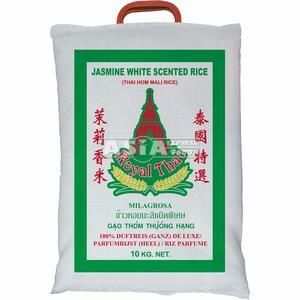 10kg riz parfumé thai  jasmin  royal thai