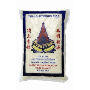 4.5kg riz gluant  royal thai