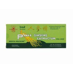 extrait de panax ginseng 10x10ml