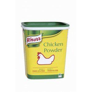 poudre de bouillon de poulet knorr 900gr