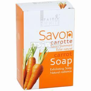 savon goman eclat naturel a la carotte paris fair & white 200gr