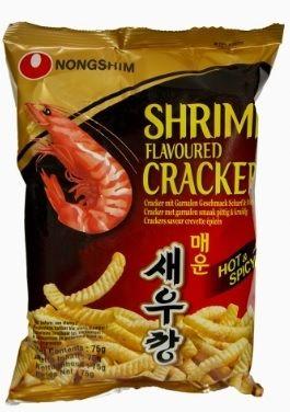 chips crevettes pimentées nong shim 75 g
