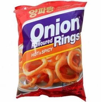chips rondelle oignon pimenté nong shim hot 40 g