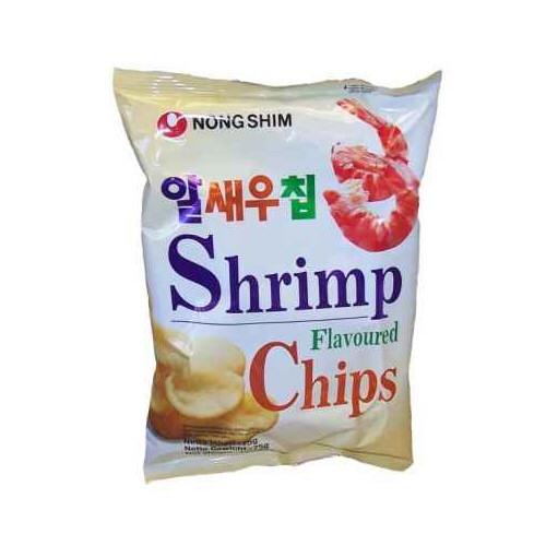 chips a la crevette 75gr nongshim