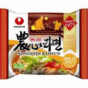 nongshim mild spicy 85g