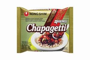 ramens corréennes chapagetti chajang ramyun 140gr  nongshim
