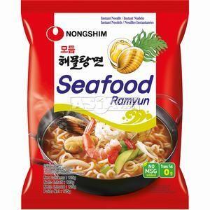 ramens coréennes fruit de mer nongshin 125g