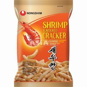 cracker arome crevette nong shin 75g